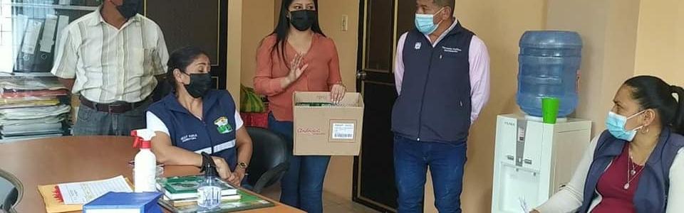 EL GADPR DE SAN JUAN DE CERRO AZUL Agradece a la Compañía EXPLORUMIÑAHUI por la donación de una TABLET  para una rifa Solidaria.