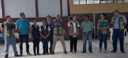REUNIÓN DE TRABAJO CON PRESENCIA DE AUTORIDADES Y REPRESENTANTES DE VARIAS ENTIDADES PÚBLICAS